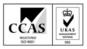 CCAS 9001 Accredited