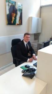 Concierge in London or Front of House